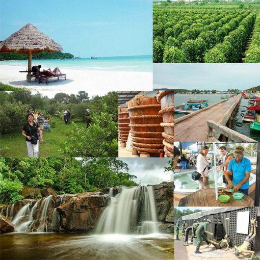 Tour tham quan đông nam đảo Phú Quốc 1 ngày