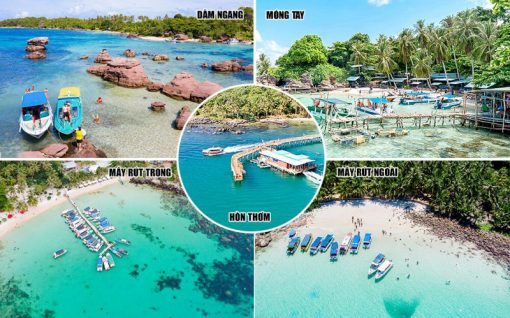 Tour 5 đảo Phú Quốc 1 ngày