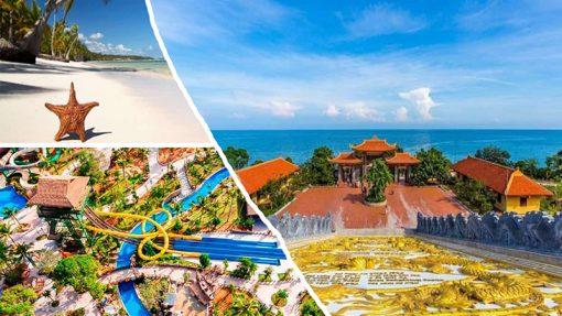 Tour Nam đảo kết hợp khám phá Cáp treo, công viên nước Aquatopia