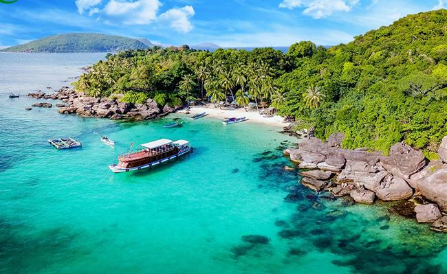 Tour cano 4 đảo hot nhất